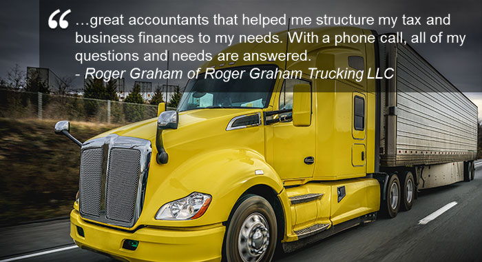trucking and transportation accountants