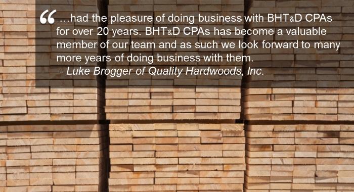 sawmill accountants