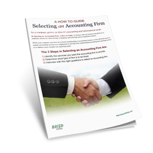 how to select an accounting firm