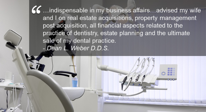 BHTD accounting for dentist and professional services