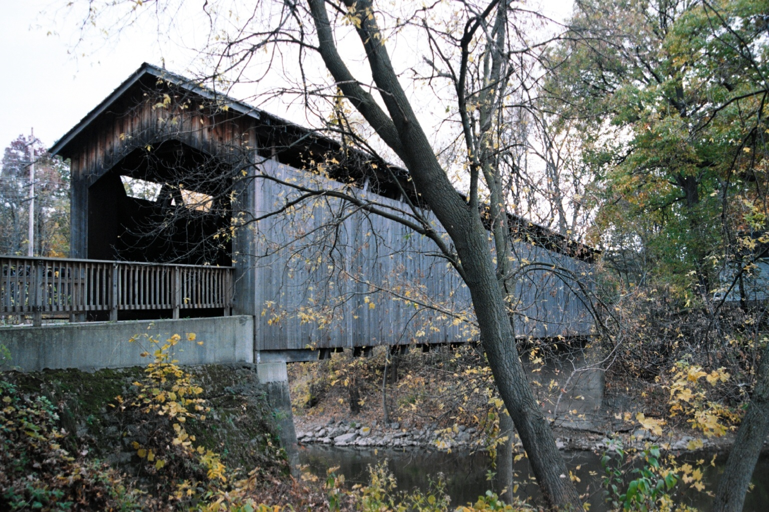 Ada Covered Bridge Michigan