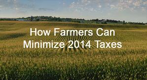 farmers minimize taxes