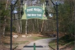 Fred Meijer Flat River Trail Greenville MI