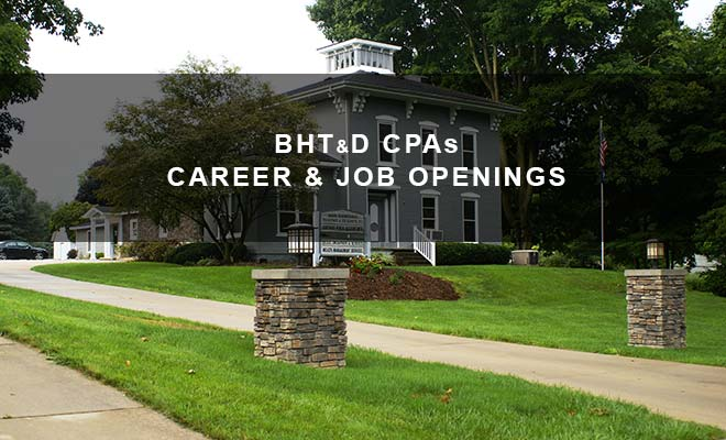 BHTD CPAs Michigan Accounting Career and Job Openings